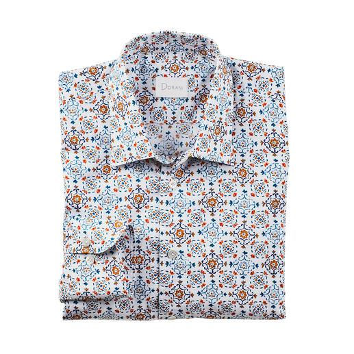 Chemise à motif à carreaux Dorani Motif à carreaux actuel, mais rarement aussi subtile : aux couleurs douces et au design sobre. De Dorani.