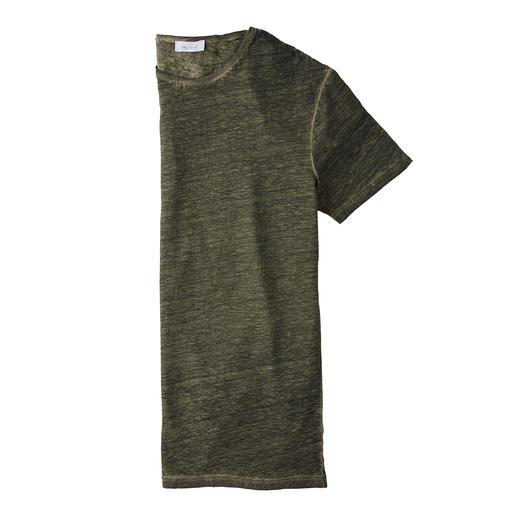 Votre climatisation naturelle lorsque les températures grimpent : le T-shirt en pur lin. Votre climatisation naturelle lorsque les températures grimpent : le T-shirt en pur lin. Par van Laack.