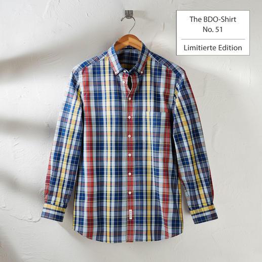 The BDO-Shirt, Limited Edition No. 51, Slim Fit Redécouvrez une bonne vieille amie. Et oubliez qu'une chemise doit être repassée.