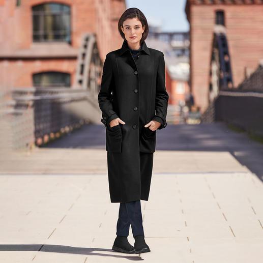 Manteau en laine Strenesse Actualisé avec le style pour homme et la longueur midi. De Strenesse.