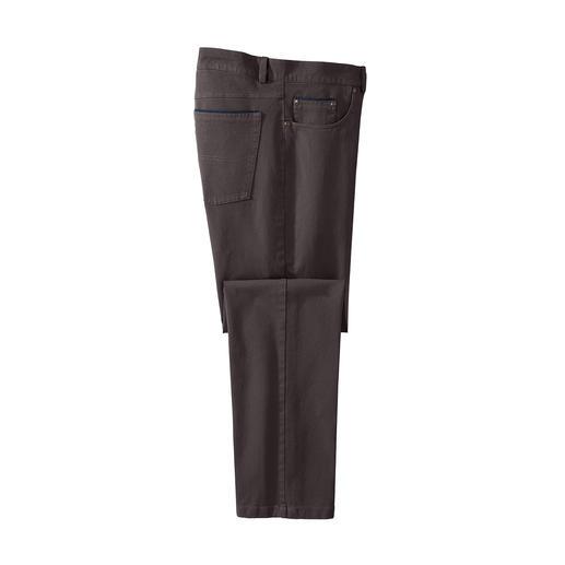 Pantalon 5poches Winter Cotton Réchauffe sans doublure. Coupe-vent sans produits chimiques.