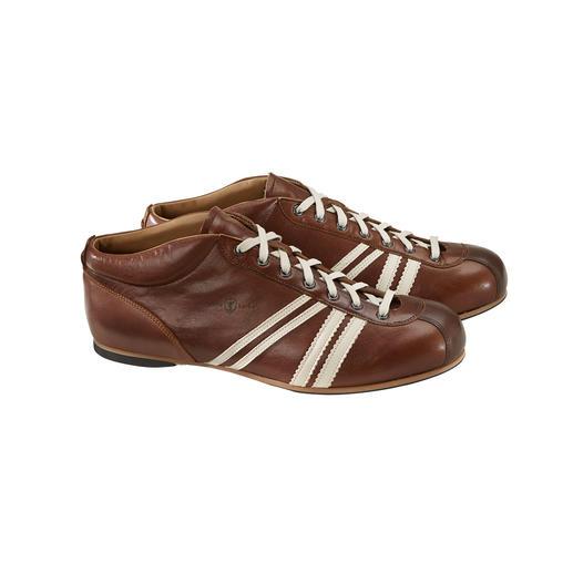 Sneaker de football rétro Zeha Au design original des années 50 : la chaussure de football « Liga » de la RDA par Zeha.
