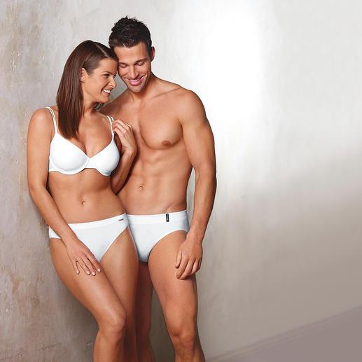 « Cult » Slips pour homme et femme Le nec le plus ultra en matière de slip. Confection sans couture, effet coton.