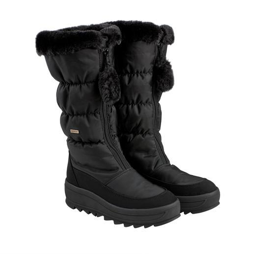 Bottes matelassées Pajar® Aujourd'hui pour l'après-ski, demain pour une balade en ville : la Snow-Boot mince au potentiel de haute couture.