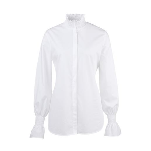 Blouse basique aybi La réinterprétation tendance du chemisier blanc basique. Élégance classique, mais tout sauf ennuyeux.