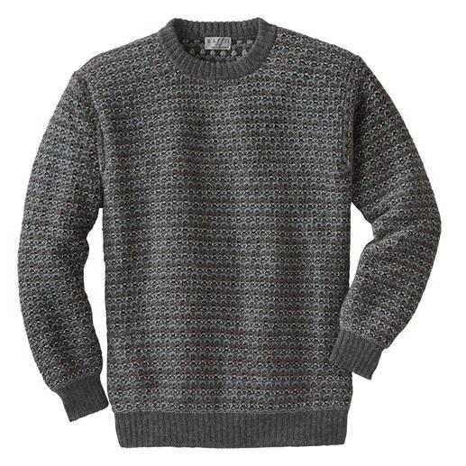 Pullover en alpage Intiwara Rare tricot artisanal venant des Andes. Et non pas une production de masse d'Extrême-Orient.