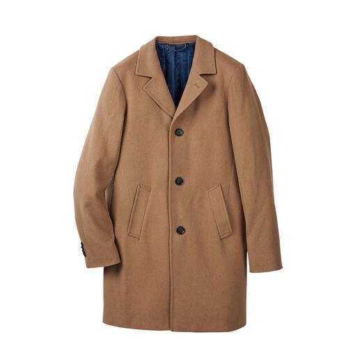 Manteau en poil de chameau Aussi élégant qu'un noble veston. Résistant à l'hiver comme une parka outdoor.