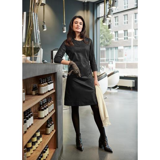 Robe en cuir Depeche En vogue : les robes en cuir. Notre bon plan qualité-prix : celle du label danois Depeche.