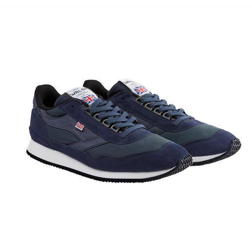 Sneaker en cotton ciré Norman Walsh Imperméable et respirante grâce au coton ciré. Du spécialiste des chaussures de sport, Norman Walsh.