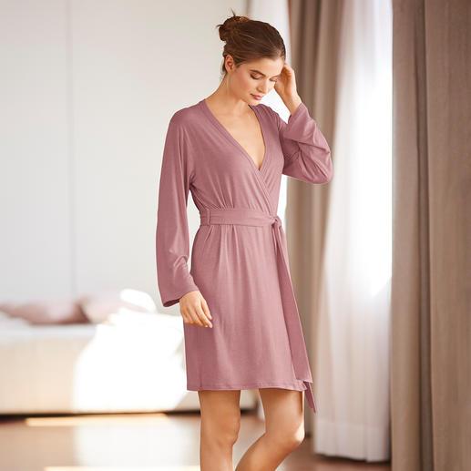 Kimono ou Pyjama en viscose de bambou Difficile à trouver : pyjama et kimono en viscose de bambou douce et fluide.