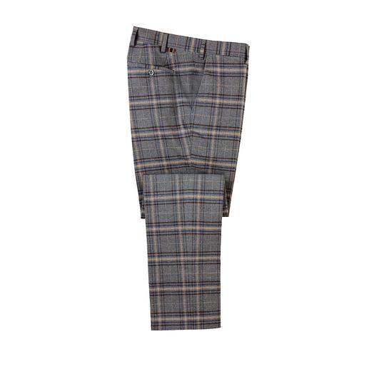 Pantalon à carreaux DAKS Aussi élégant qu'un pantalon en tissu. Aussi réchauffant qu'un pantalon de laine. De DAKS.