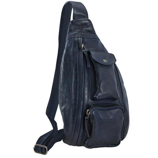 Anokhi crossbody bag À porter soit comme sac à bandoulière. Soit comme banane. Toujours tendance. De Anokhi.