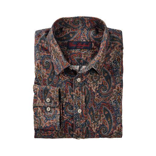 Chemise en velours côtelé et Paisley Liberty™ La chemise en velours côtelé réchauffant et au motif Paisley classique.