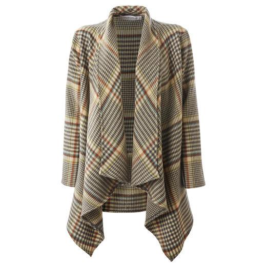 Veste tartan Lochcarron La version « jeune » parmi les vestes tartan traditionnelles. Faite de laine d'agneau réchauffante.