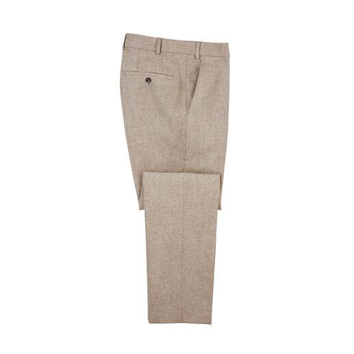 Pantalon en tissu et loden Aussi robuste et déperlant que le loden classique. Mais beaucoup plus doux et plus léger.