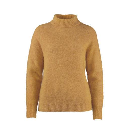 Pullover en mohair Johnnylove Moins de peluches, plus de mode : le pull en mohair de Johnnylove, Norvège.