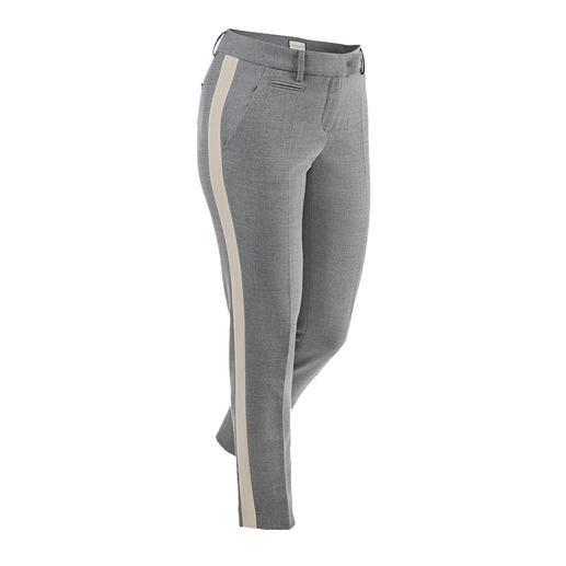 Pantalon à galon Seductive «Blended Wool» Doux et non grattant, agréablement extensible, néanmoins résistant et lavable en machine.