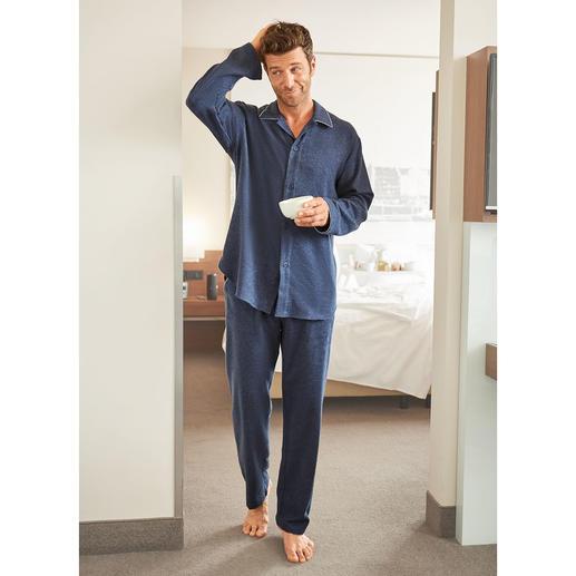Pyjama en flanelle NOVILA, homme Le pyjama idéal pour une bonne impression dès le matin.