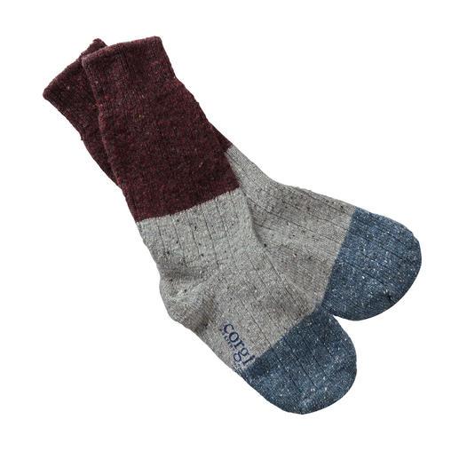 Chaussettes pour homme Donegal Robustes et douces à la fois : les seules véritables chaussettes pour bottes Donegal de Corgi/Wales.