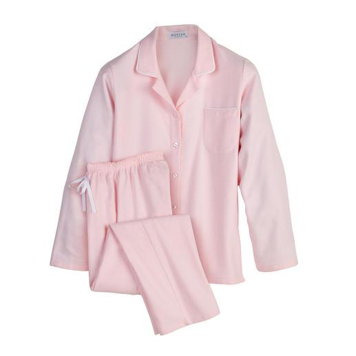 Pyjama en flanelle NOVILA, femme Le pyjama idéal pour une bonne impression dès le matin.
