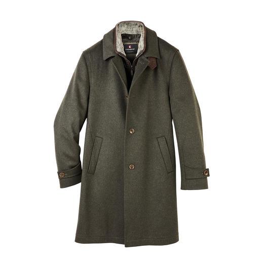 Manteau en loden Méticuleusement modernisé : le manteau de loden original de Steinbock®/Autriche.