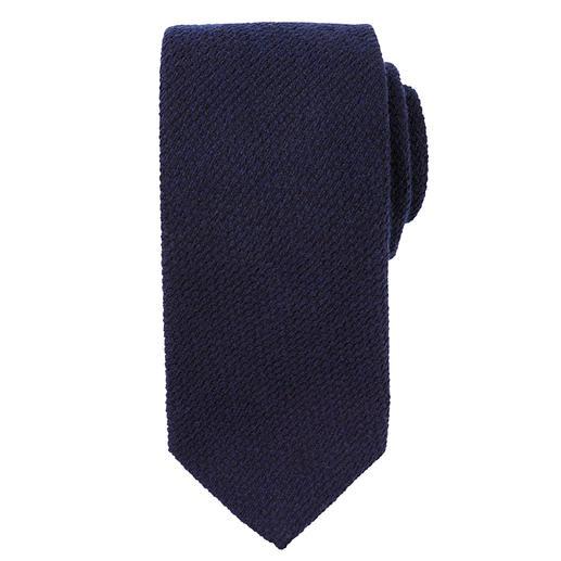 Cravate en soie et cachemire Blick La cravate parfaite pour vos vestes et costumes d'hiver préférés. Aspect tricot laineux en cachemire et soie.