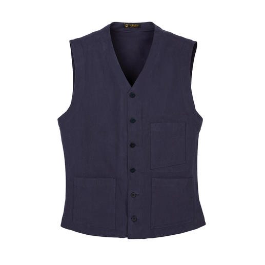 Gilet Heavy Cotton Hollington Design intemporel. Le véritable gilet Patric Hollington.