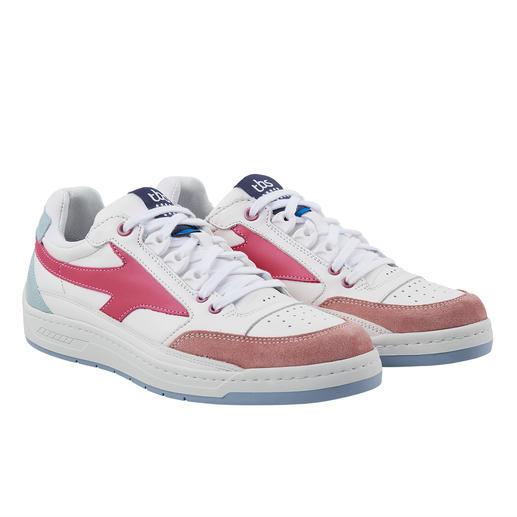 Sneaker en cuir lavable TBS, pour femme Baskets en cuir clair intemporelles, mais lavables en machine ! Design rétro branché fabriqué en France.