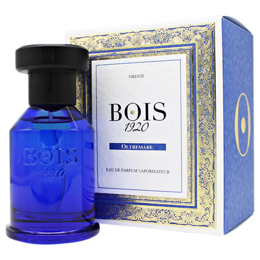Eau de Parfum  «Oltremare» Bois 1920 Incomparablement frais, vibrant, dynamique : « Oltremare » diffuse une odeur de vacances en Méditerranée.