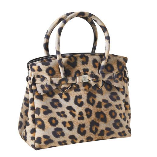 Sac ultraléger Look classique, matériau innovant, motif tendance : ce sac à main ultra léger ne pèse que 380 grammes.