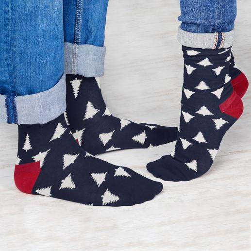 Chaussettes de Noël Dilly Socks Offrir des chaussettes ? Pourquoi pas, mais seulement celles à motif de Dilly Socks.