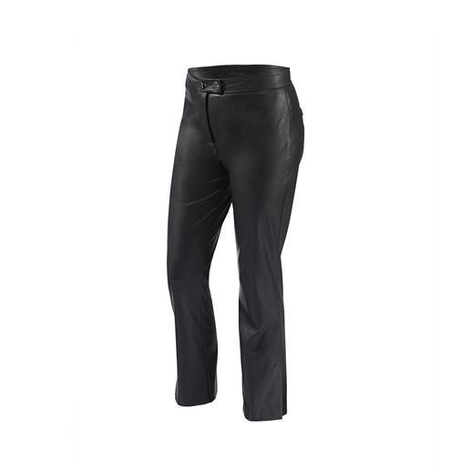 Pantalon 7/8 Similpelle Pinko Aussi doux et noble que le cuir. Mais plus facile d'entretien et moins cher. De Pinko.