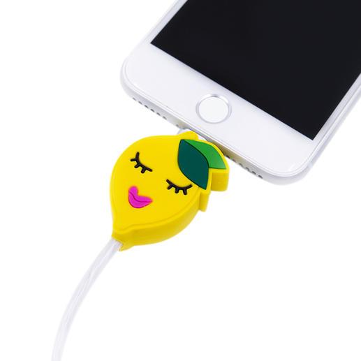 Câble à motif et LED Le cadeau parfait pour tous les fans d'Apple : le câble de charge à motif avec éclairage. De Iphoria.