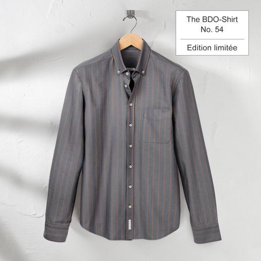 The BDO Shirt, Limited Edition No.54 Redécouvrez une bonne vieille amie. Et oubliez qu'une chemise doit être repassée.