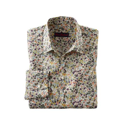 Chemise Tana-Lawn Liberty™ Wiltshire Chemise florale de gentleman : tendance chez les autres. Chez Liberty™, une tradition depuis plus de 140 ans.