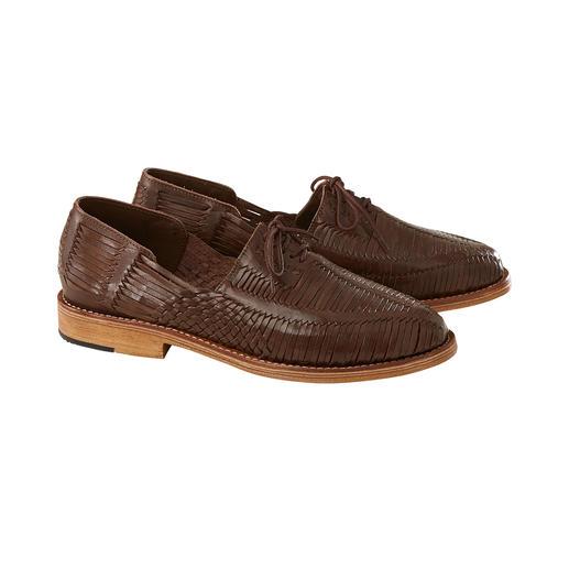 Chaussure tressée huarache Cano La chaussure d'été du Mexique : huarache originale tissée à la main. Aérée. Confortable. Élégante. Par Cano.