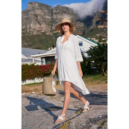 Tunique en lin Kultfrau À la fois tunique, robe de plage et article tendance dont on ne se lassera jamais.