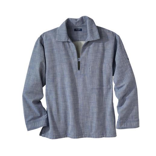 Chemise de pêcheur  Saint James Chemise de pêcheur Vareuse : l'original breton de la tendance actuelle du workwear.