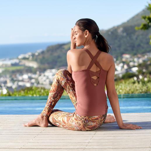 Veste cache-coeur, Maillot ou Leggings Mandala Assez confortable pour le yoga, le tai-chi et le divan. Assez élégant pour les spas et les studios.