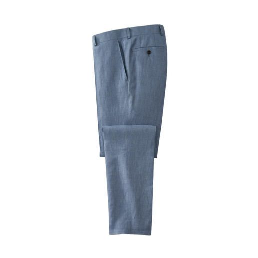 Veste ou Pantalon d'affaire en lin Carl Gross Avec un ajustement optimal grâce à la sélection de taille individuelle pour la veste et le pantalon.