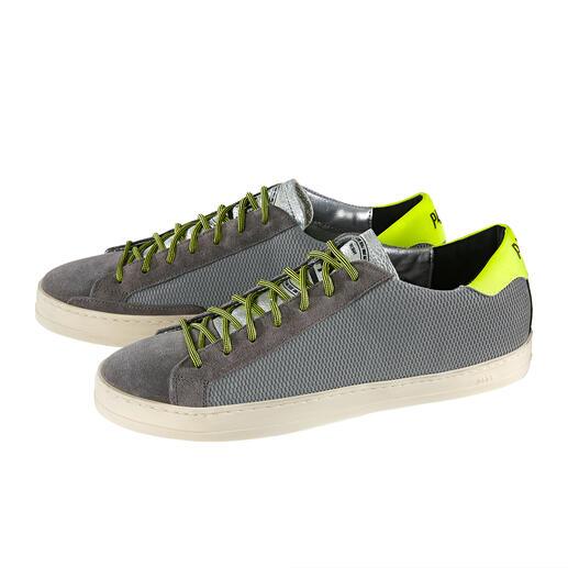 Sneaker réfléchissante P448® La sneaker à réflecteur de la marque tendance italienne P448®. Stylée la journée. Vous protège la nuit.