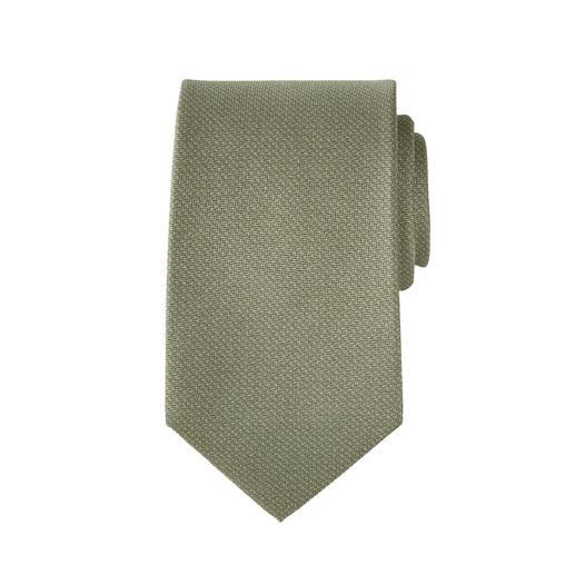 Pochette ou Cravate à impression 3D Pellens & Loick Aspect tricoté à la mode. Mais incomparablement fin et léger grâce à de la pure soie. De Pellens & Loick.