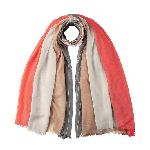 Foulard cachemire 4-en-1 Johnstons Quatre foulards en un. Tout en cachemire. La pièce de designer créative de Johnstons of Elgin, depuis 1797.