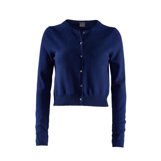 Cardigan court cachemire FTC Qualité cachemire luxueuse rare. Le cardigan parfait avec pantalons et jupes taille haute tendances.
