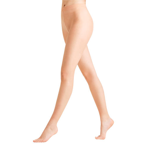 Collants Natural Glow Falke Enfin, des collants transparents qui s'adaptent à votre teint individuel.