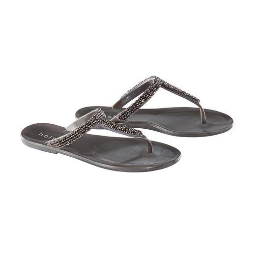 Sandales à strass holster De la plage au bar : la sandale de plage glamour du label tendance holster, Australie.