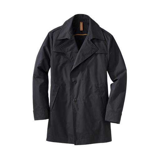 Manteau intempéries en coton EtaProof® En tissu fonctionnel de coton hydrofuge et coupe-vent. Avec réflecteurs dissimulés.