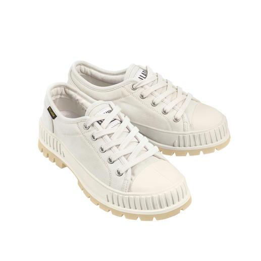 Sneaker Bulky Pallaschock Palladium Culte dans les années 90 – aujourd'hui à nouveau tendance : forme bulky. Tige basse. Canvas.