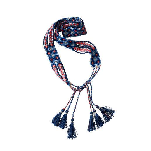 Ceinture à nouer Quipu Smitten Probablement la ceinture ethnique la plus authentique : nouée à la main selon la méthode des Incas.