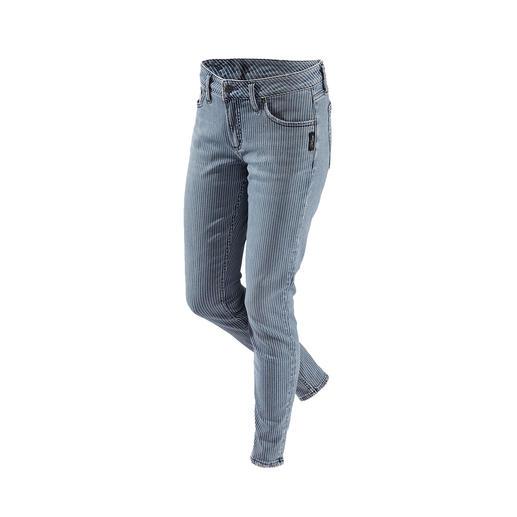 Jean à rayures Skinny de Silver Le jean Silver original du Canada : une forme parfaite, un style unique.